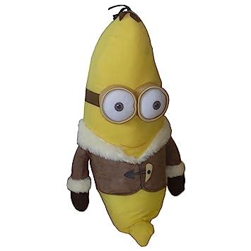 Minion KEVIN Banana PLATANO Felpa Peluche GIGANTE XXL 70cm de Mi villano favorito - Original Minions