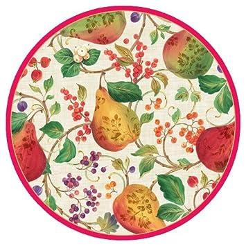 Christmas Plates Christmas Paper Plates Christmas Party Supplies Dessert Plates 7.25\u0026quot; ...  sc 1 st  Amazon.com & Amazon.com: Christmas Plates Christmas Paper Plates Christmas Party ...