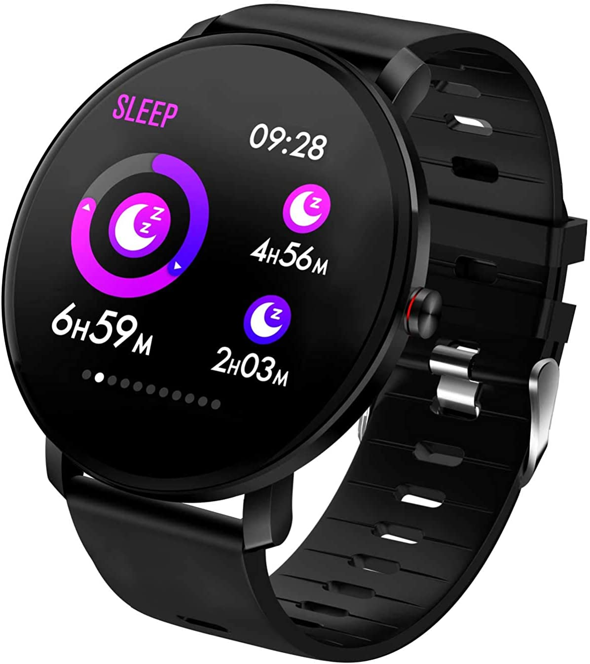 Smart Watch Full Touch Screen Heart Rate Monitor Blood Pressure Sleep Monitor Activity Tracker Bluetooth IP68 Fitness Tracker