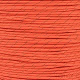 Orange with Reflective Tracers Military Grade 550 Paracord 50 Feet