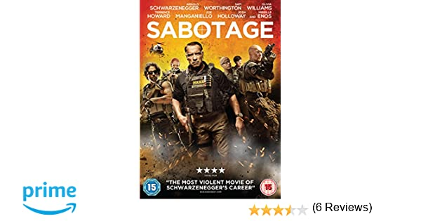 Sabotage [Edizione: Regno Unito] [Italia] [DVD]: Amazon.es: Cine y Series TV