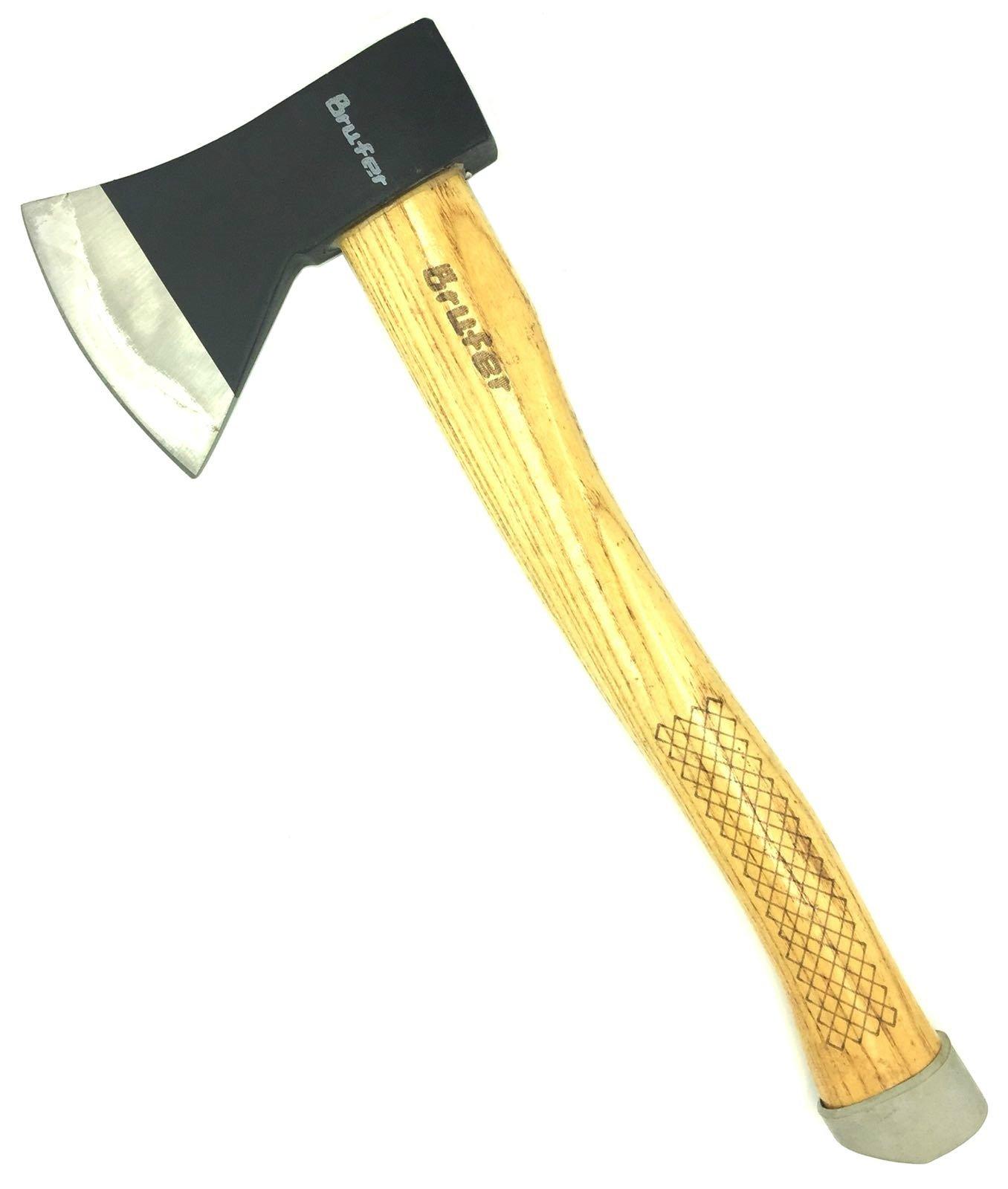 BRUFER 203651-1 Hatchet Axe with Wood Handle 600g 21oz