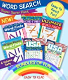 KAPPA Super Saver Word Search Puzzle Pack-Set of 6 Full Size Word Find Books