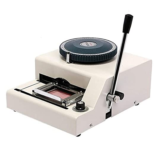 Huanyu WSDM-68C - Máquina de impresión Manual de Tarjetas de ...