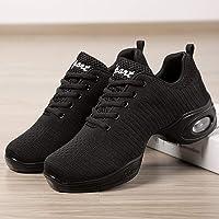 Clement Attlee Zapatos de Baile Mujeres Zapatos de Jazz de Baile Moderno Zapatos de Baile de respiración Suave Zapatillas de Deporte