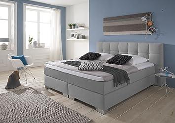 Boxspring bett home design  Amazon.de: Boxspringbett 180/200 Made in Germany, Boxspringbett ...