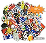 MEGA Cool Graffiti Stickers Decals Vinyls | Pack of 100 Finest Quality | Perfect To Stickerbomb Your Laptop, Skateboard, Luggage, Car, Bumper, Bike | The Bryta Store