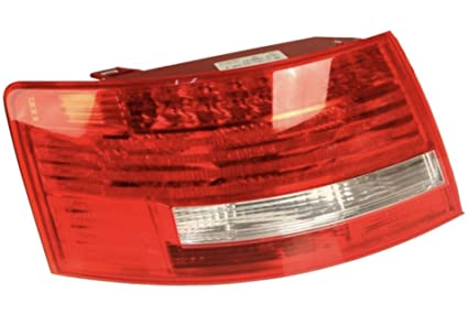 amazon com audi a6 s6 oem led tail light assembly rear outer left audi starter wiring audi a6 rear light wiring diagram #27