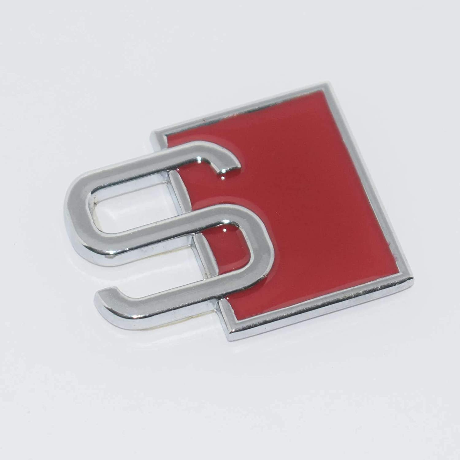 Car Trunk Red Metal Chrome AWD Letters Emblem Auto Door Fender Badge Sticker
