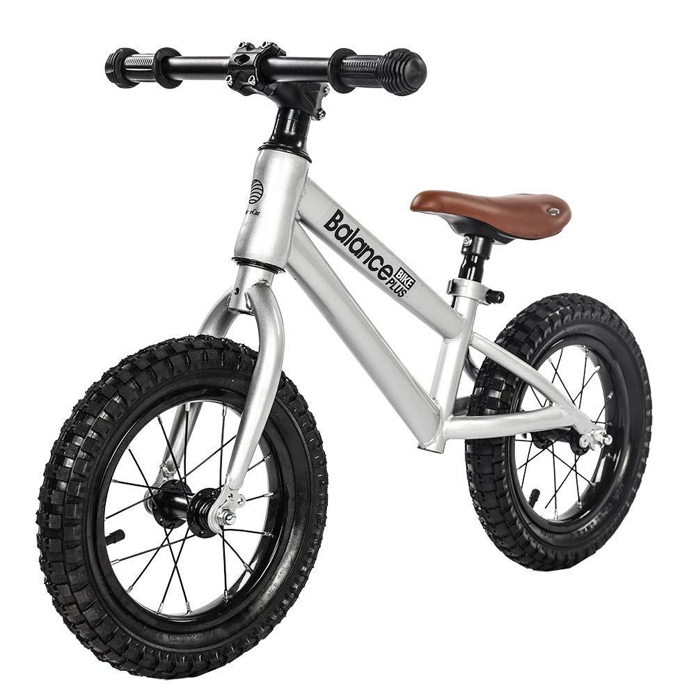 子供用自転車、バランス自転車、シートは上下に調整できます、簡単取り付けいえ塗料の安全性と環境保護はありません、車両重量は3.6KG、長さは70cm B07JCWZLBK