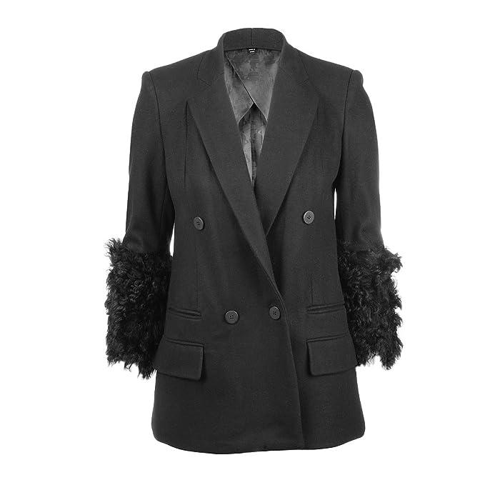 Karl Lagerfeld - Chaqueta - para mujer negro 36  Amazon.es  Ropa y  accesorios 674ea5c43f2