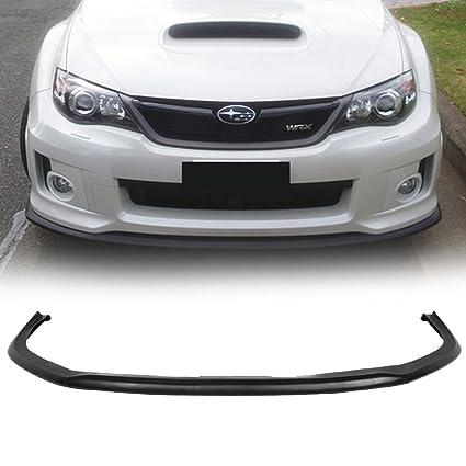 Lovely 11 13 Subaru Impreza WRX Sti V Limited Style Urethane Front Bumper Lip  Spoiler