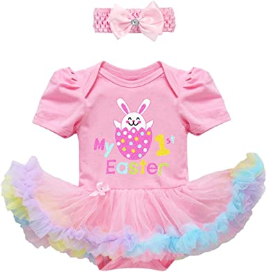 Easter Outfit Baby Tutu Baby Photo Prop Pink Tutu Easter Tutu Easter Dress Baby/'s First Easter