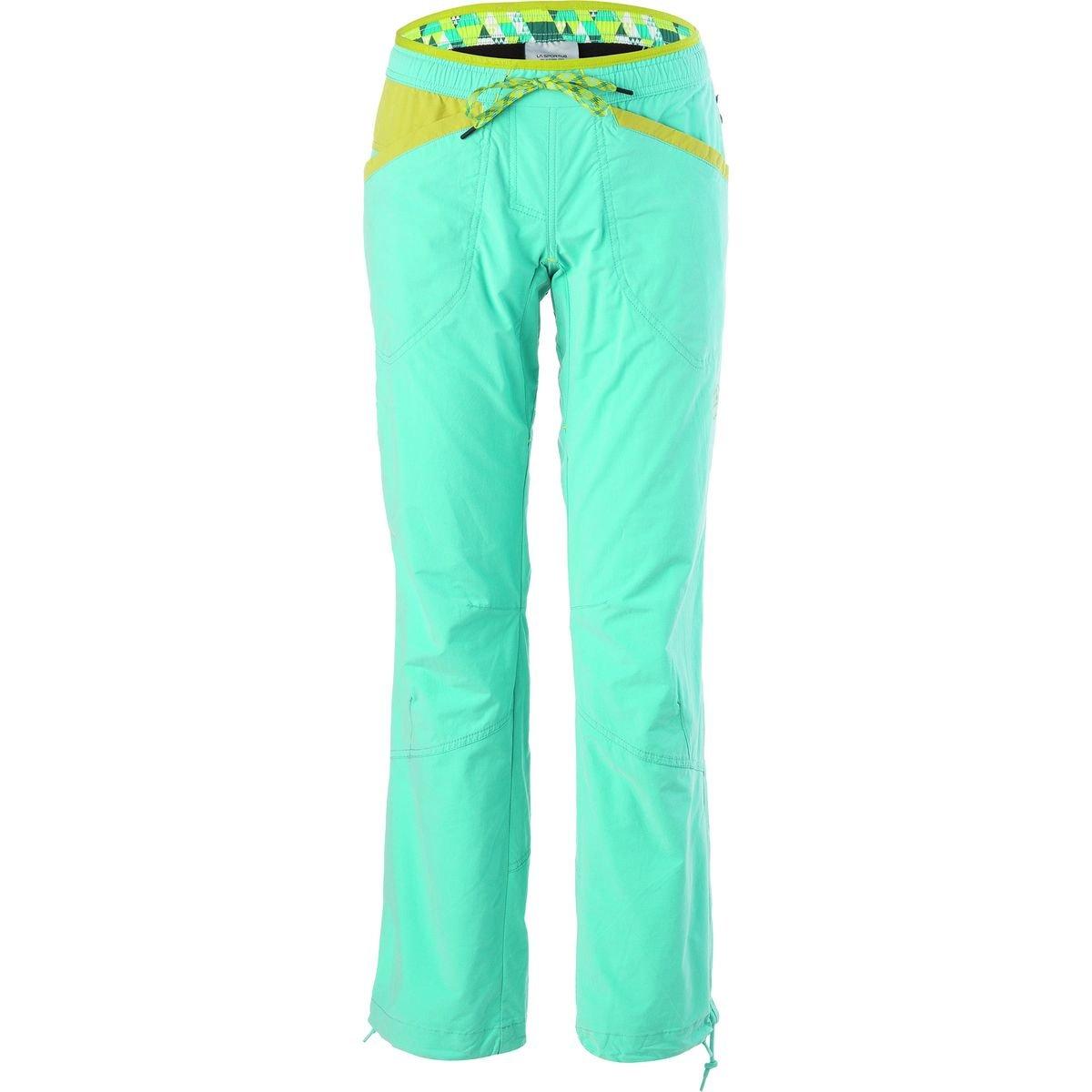 La Sportiva Sharp Pant - Women's Mint/Citronelle, XS