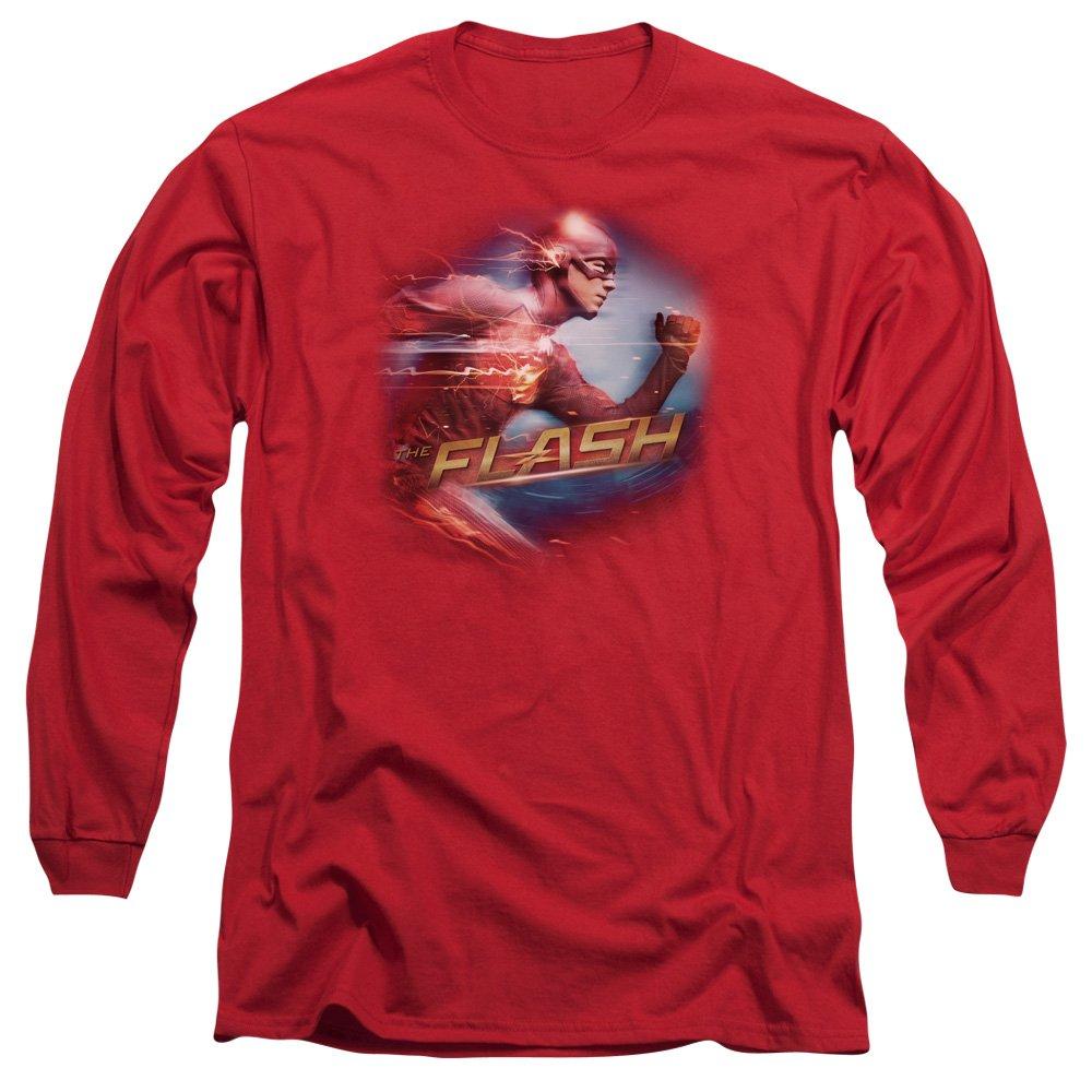 MMM Merchandising The Flash Mens Fastest Man Long Sleeve T-Shirt