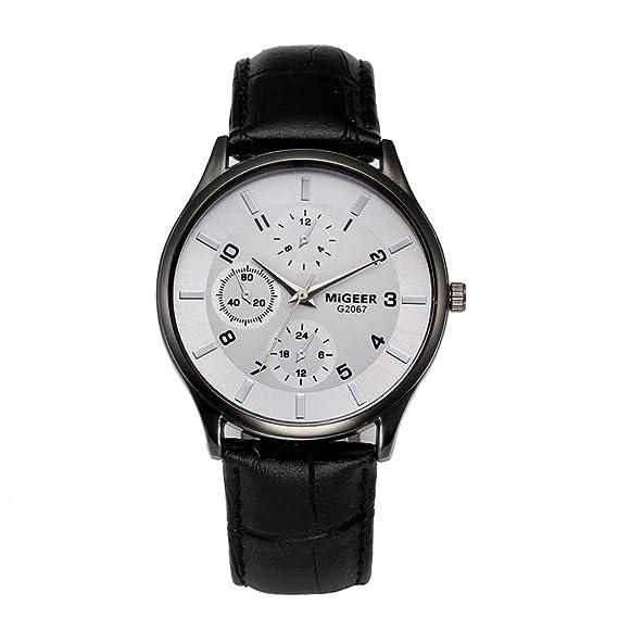 Rcool Relojes suizos relojes de lujo Relojes de pulsera Relojes para mujer Relojes para hombre Relojes deportivos,Reloj de pulsera Reloj Correa de cuero ...