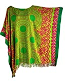 Trendyloosefit Women's Plus Size Loose Fit Tops Beach Cover Ups One Size (Emerald Green)