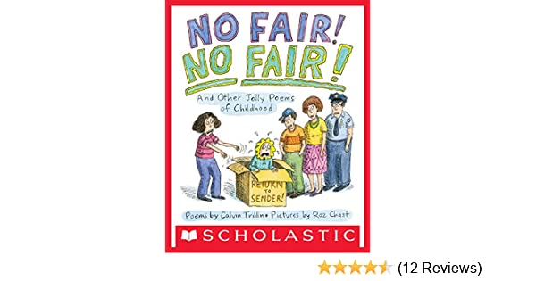 No Fair No Fair And Other Jolly Poems Of Childhood Kindle