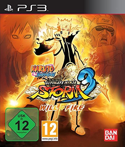 Naruto Shippuden: Ultimate Ninja Storm 3 Will of Fire Collector's Edition [Playstation 3 PS3 Limited Statue] NEW