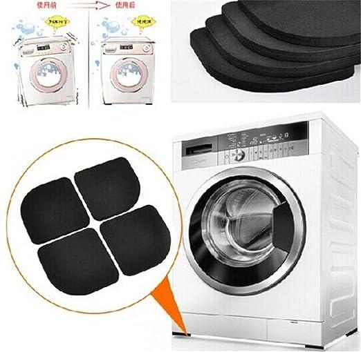 yinew 4 pieza Anti-Vibration Pads para lavadoras antideslizante ...
