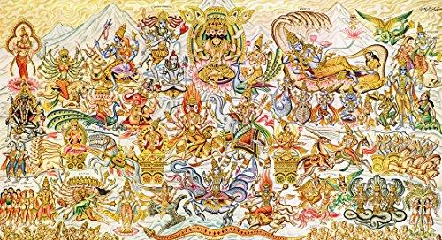 all hindu gods poster