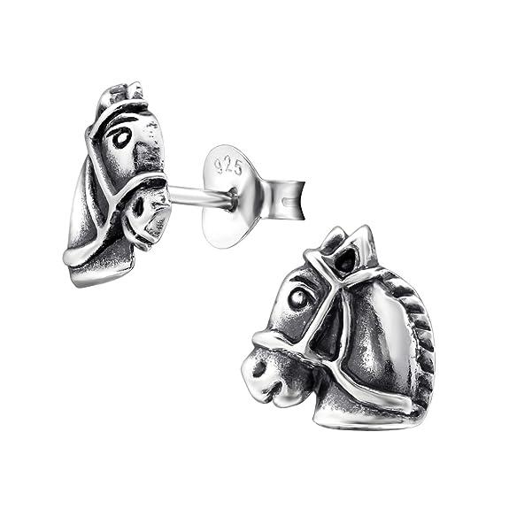 Tiwoca Jewellery M/ädchen Katzen Kristall Ohrstecker Echt Silber 925 inclusive hochwertigem Tiwoca Jewellery Schmucketui und gratis Schmuckpoliertuch