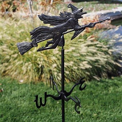 Whitehall Flying Witch Garden Weathervane