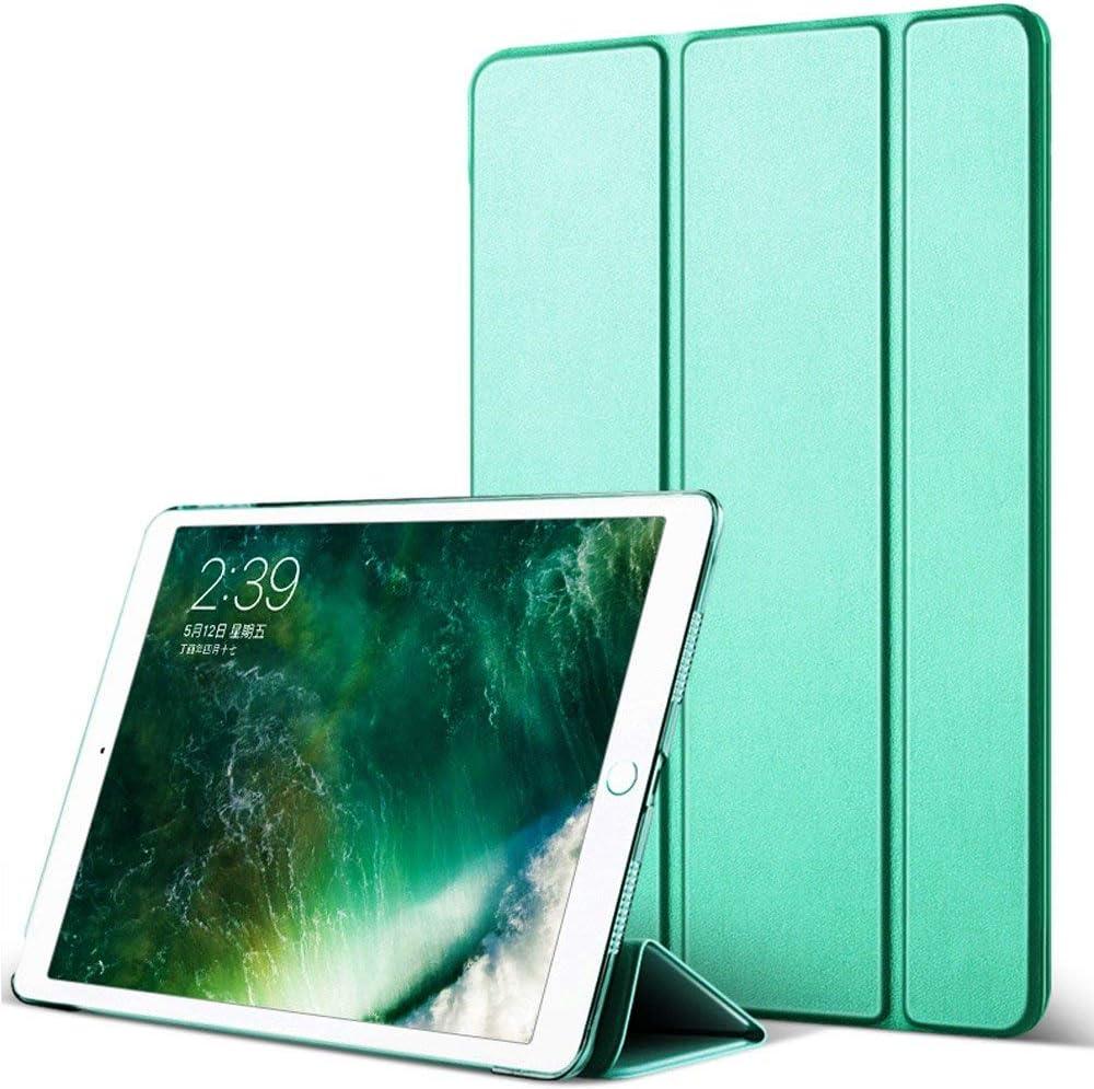 iPad Mini 1/2/ 3 Smart Case 7.9 inch Silicone Soft Cover Ultra Slim Lightweight Smart Case Folding Bracket with Auto Sleep/Wake for iPad Mini 1,Mini 2 Mini 3(Green)