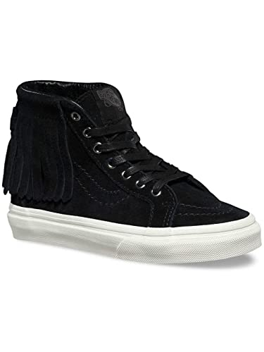 6821e43e4c Vans Sk8-Hi Moc (Suede) Black Blanc de Blanc (Men s 3.5