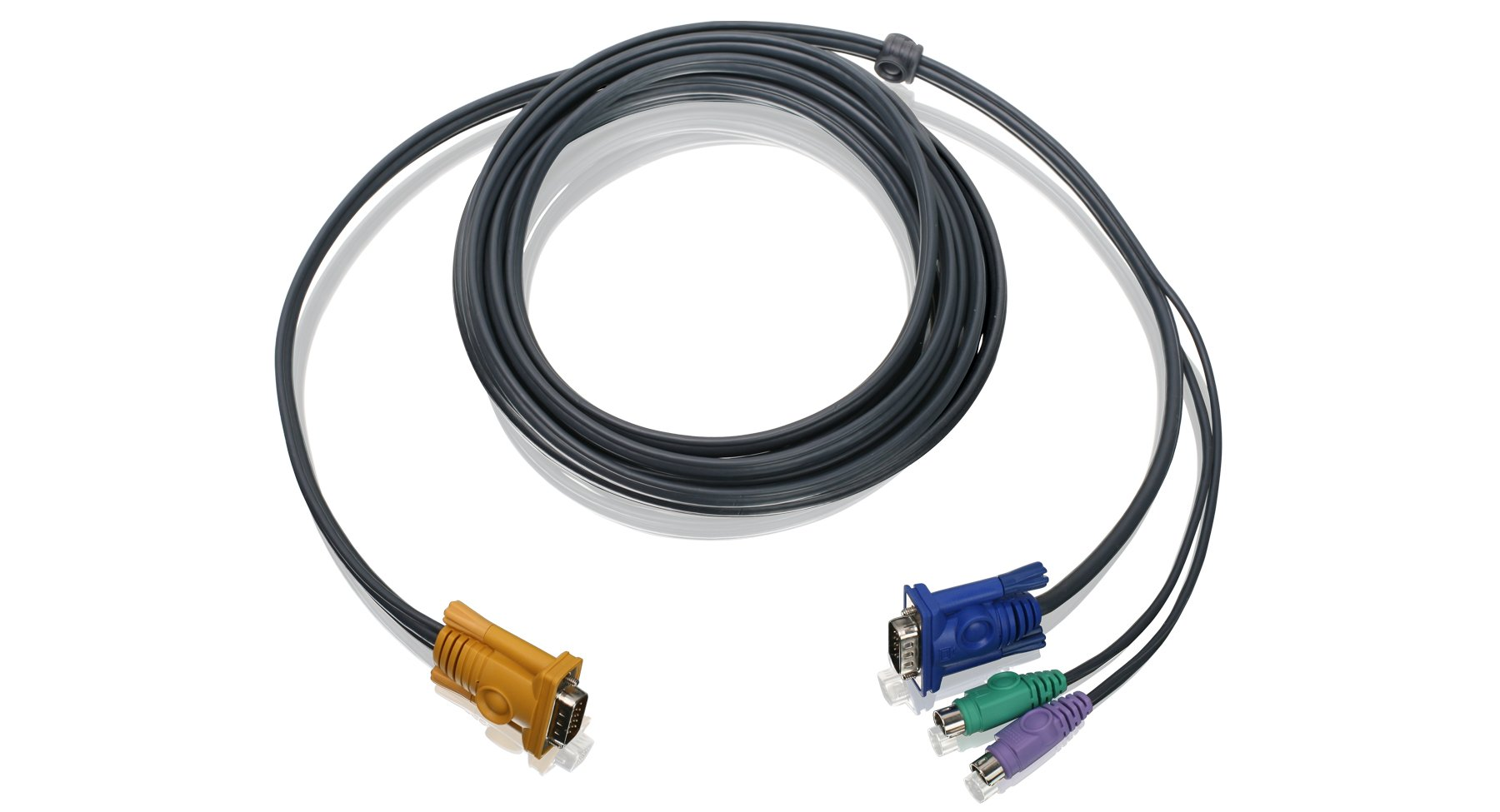 IOGEAR PS/2 KVM Cable, 10 Feet, G2L5203P