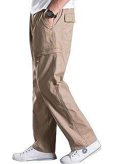 Amazon.com: Eaglide pantalón de carga elástico para hombre ...