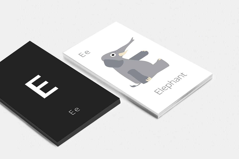Alphabet Animals ABC Flashcards