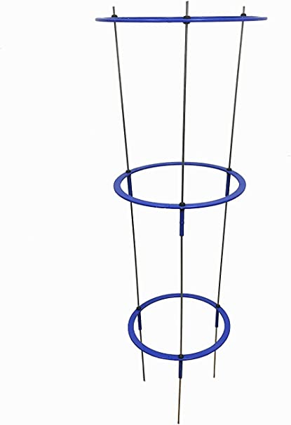 Pack of 1 Medium or Large Hydroponics Conical Stands Plant Support