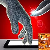 KEEP YOUR FAMILY SAFE! TouchScreen Cut Resistant Safety Gloves FREE CHILDREN eBook, for Cooking, Working, Wood carving, Oyster Shucking, Fish Fillet Processing, Mandolin Slicing, Kitchen Meat Cutting