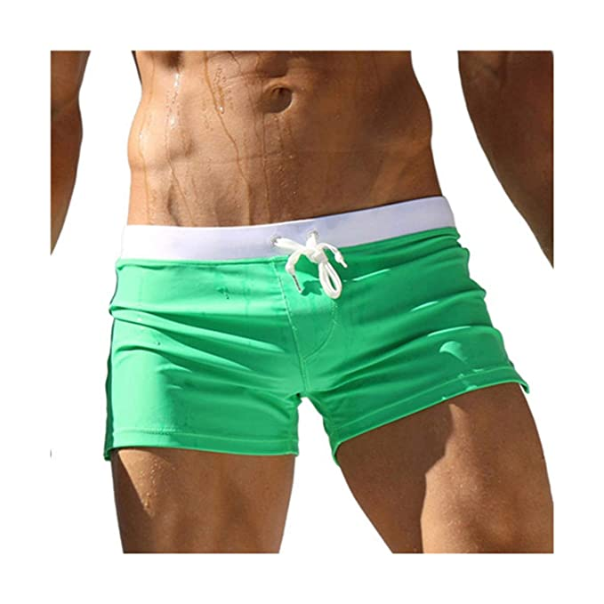 495a9c0f19 Summer Men's Swimwear Swimsuit Swimming Boxer Shorts Sport Suits surf Board  Shorts Briefs Men Swim Trunk
