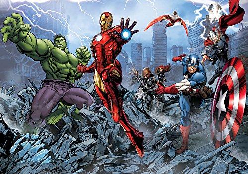 Marvel Avengers Assemble Comic Wallpaper Mural Part 87