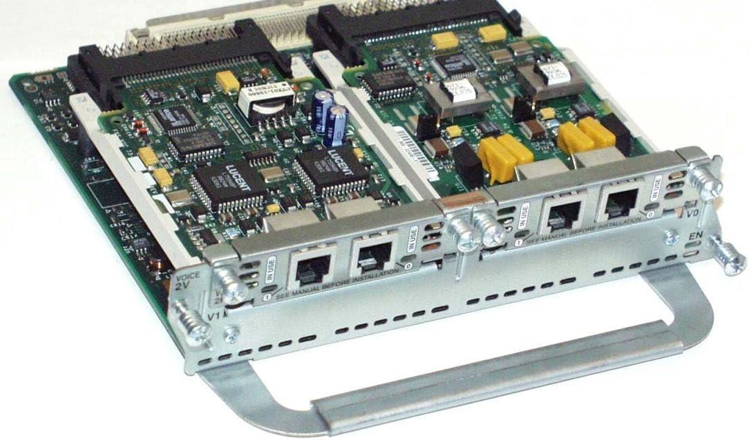 Genuine Cisco NM-2V Voice Module for VIC-2FXS VIC-2FXO
