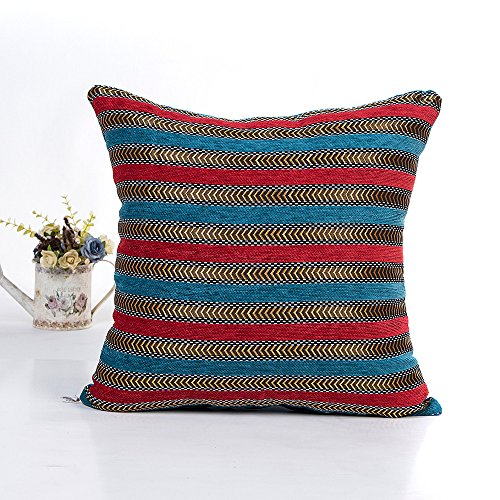 Birdfly Textured Metallic Gold Stripe Throw Pillow Cases Modern