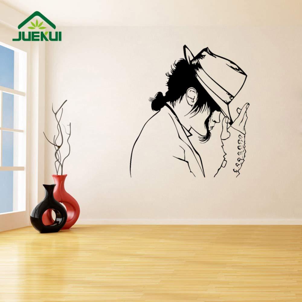 Rey de la música Pop Etiqueta de la Pared decoración Sala de ...