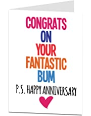 Amazon Co Uk Anniversary Greeting Cards Stationery Office Supplies