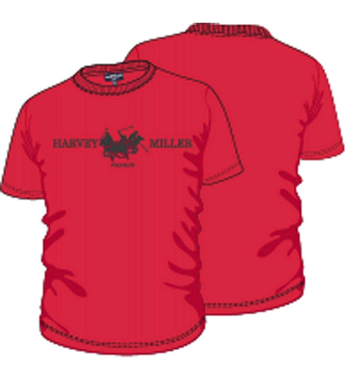 HARVEY MILLER POLO CLUB Camisa con Cuello Redondo Camiseta Simple ...