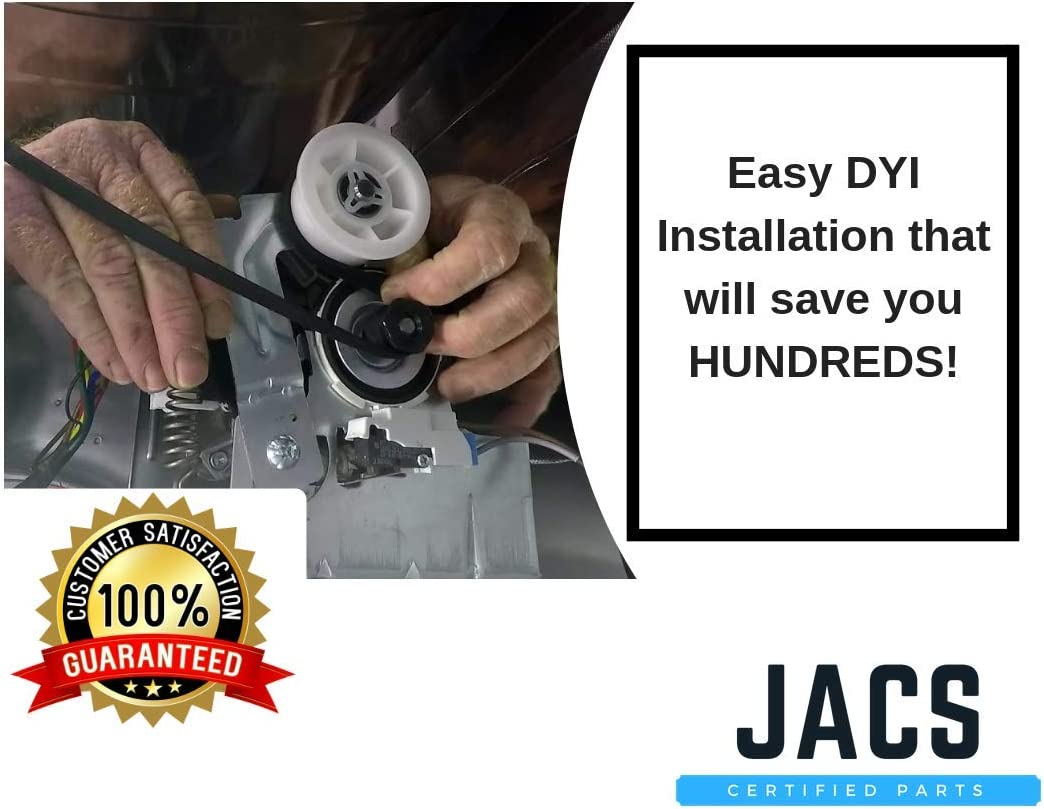 Samsung Dryer Idler Pulley Dc93-00634a Dc96-00882c Replacement By Jacs