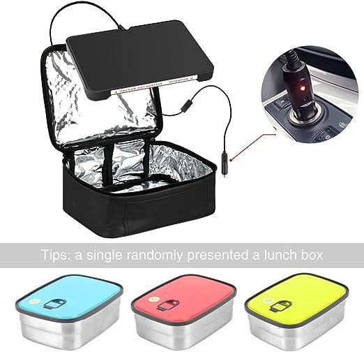 Horno portátil 12 V Personal Crockpot lento cocina microondas con ...