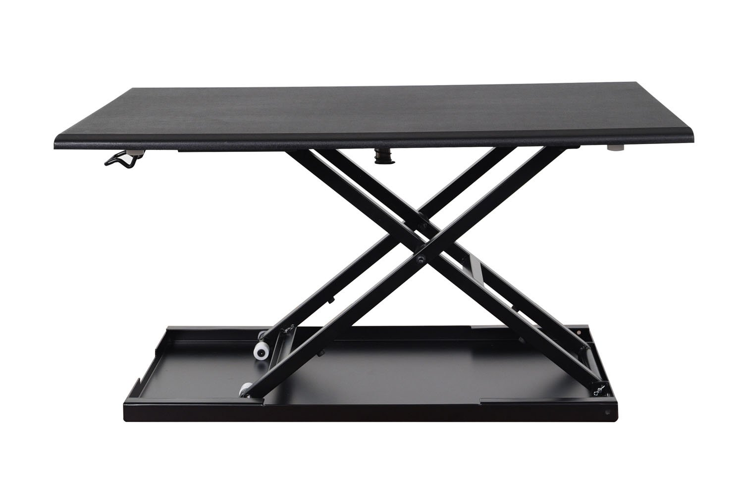 Luxor Level Up 32'' Pneumatic Height Adjustable Desktop Desk