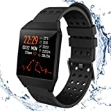 Fitness Tracker HR,Smart Watch Activity Tracker with Pedometer Step Calorie Counter Sleep Monitor For Android & iOS…