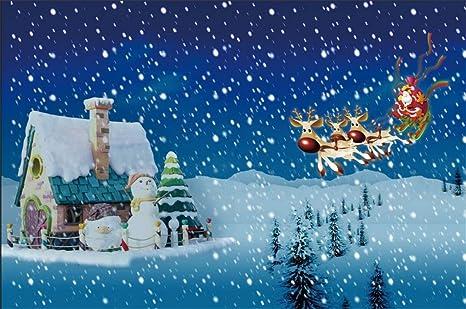 amazon com csfoto 8x6ft background for fantasy christmas night