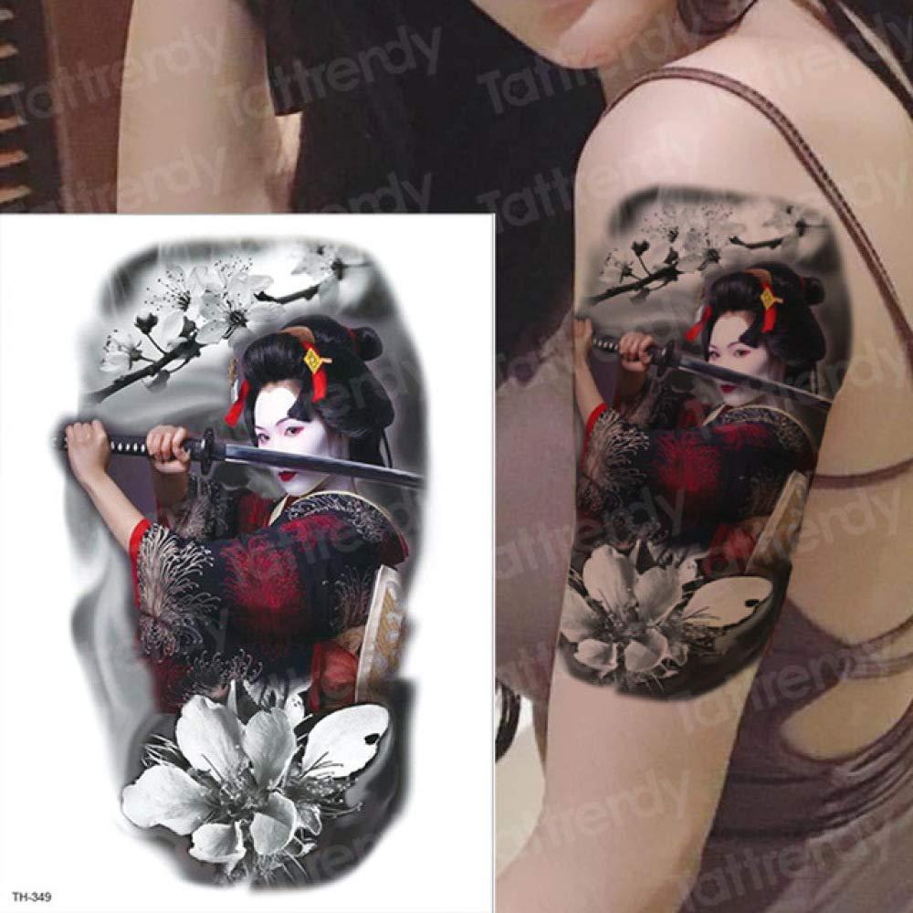 Cicatriz de Halloween Zombi Masculino Tatuaje Tatuaje Tatuaje de ...
