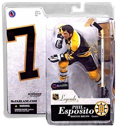(McFarlane Toys NHL Sports Picks Legends Series 2 Action Figure Phil Esposito (Boston)