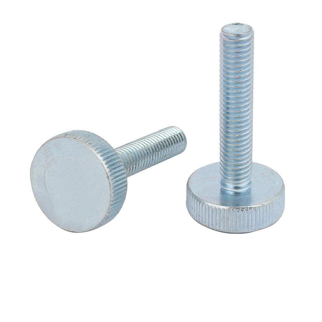 uxcell M3x6mm Round Shape Knurled Phillips Head Thumb Screw 80pcs for Computer PC Case