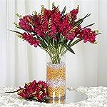 54-Artificial-Freesia-Flower-Bushes-Wedding-Vase-Centerpiece-Decor-Fushia